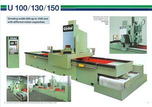 G130 Vertical Long Table Surface Grinders